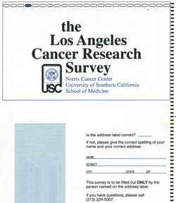 the Los Angeles Cancer Research Survey