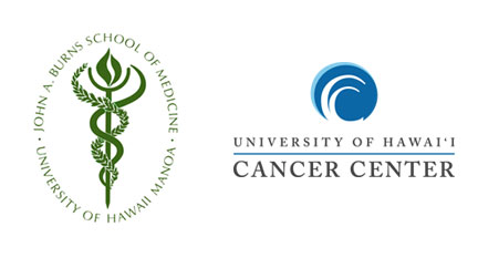 JABSOM and UH Cancer Center logos